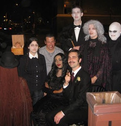 addams-family-costume-group