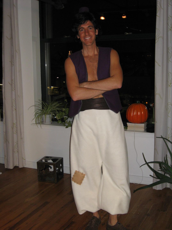 Aladdin handmade costume