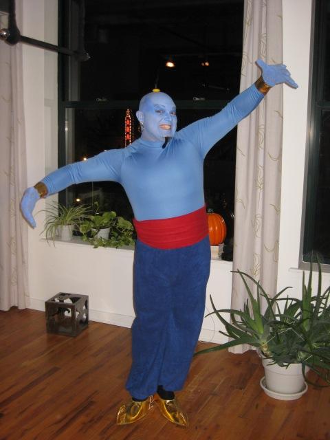 Aladdin's Genie handmade costume
