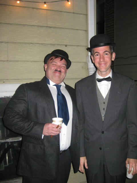 Laurel and Hardy costumes