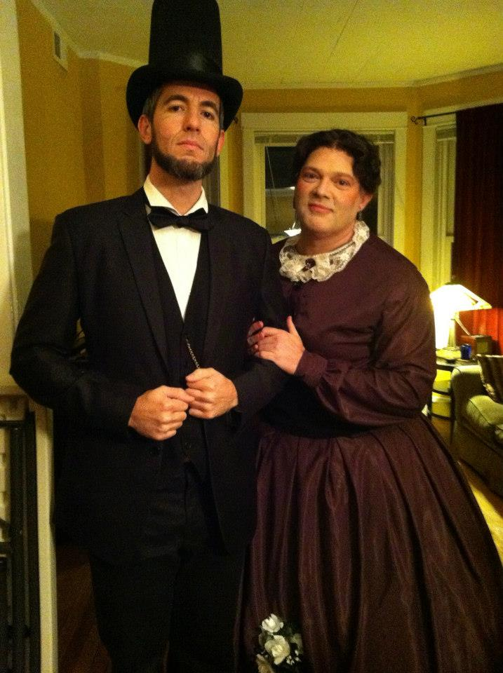 Abraham Lincoln and Mary Todd Lincoln costumes