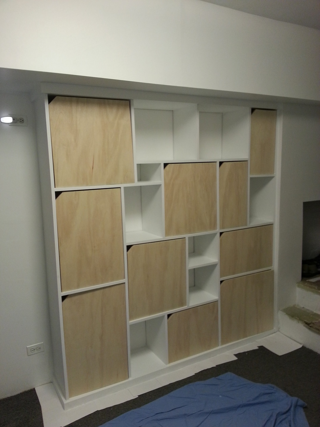 Cubic built-in cabinets - WIP