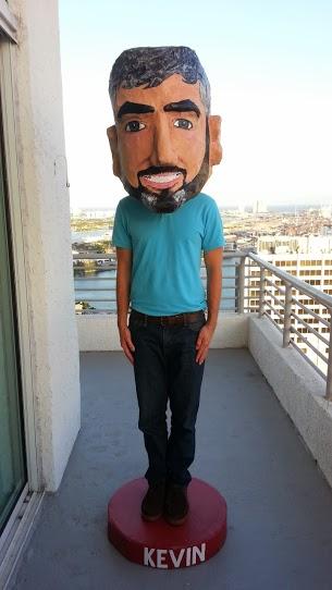 Bobblehead costume Kevin
