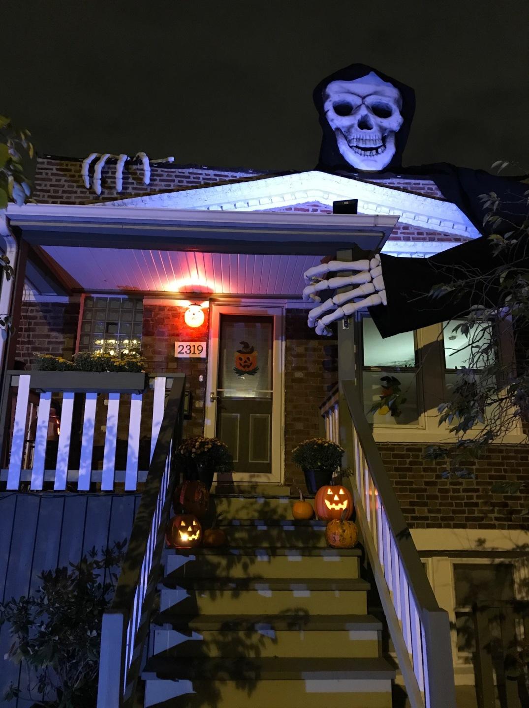 24 skeleton at night