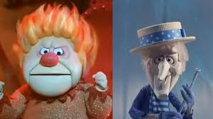 Our inspiration: Heatmiser and Snowmiser from The Year Without a Santa Claus