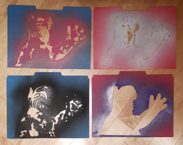 4-part ALF stencil